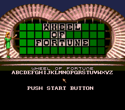 Wheel of Fortune Title Screen